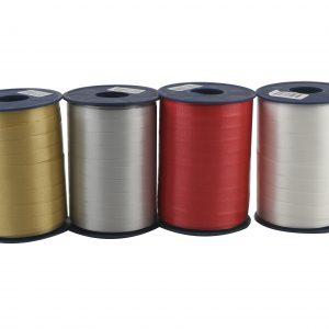 Köp olika färgad bands 250 m x 10 mm för festtillbehör | Materialbutiken