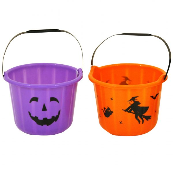 Köp hink för halloween dekorationer 19.5 x 15 cm | Materialbutiken