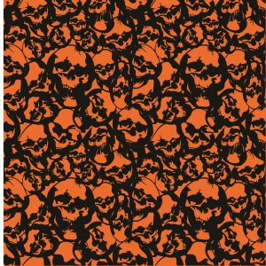Köp servett med döskalle 33 x 33 cm för halloween dekorationer | Materialbutiken