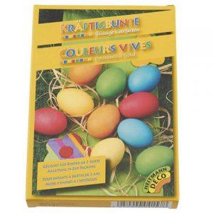 Köp kräftigbunte couleurs vives ägg färger för festtillbehör | Materialbutiken