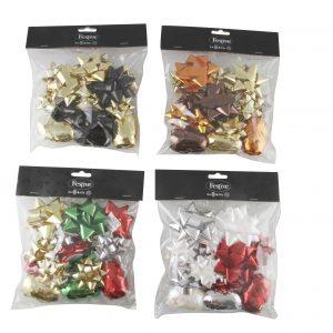 Köp 20 delar av band och rosetter för festtillbehör | Materialbutiken