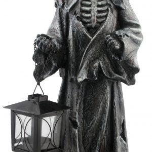 Köp svart lieman m lykta 40 cm för halloween dekorationer | Materialbutiken