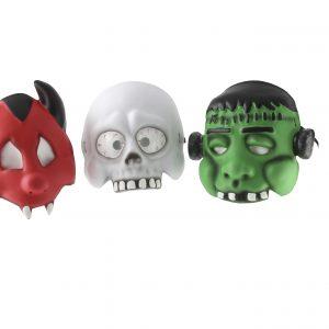 Köp 3 olika halloween dekorationer mask för barn | Materialbutiken