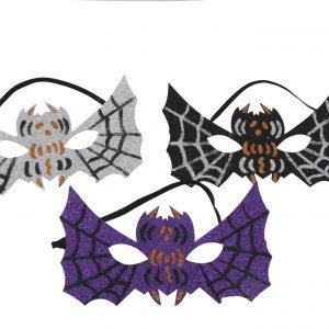 Köp spindel ögonmask för halloween dekorationer   Materialbutiken