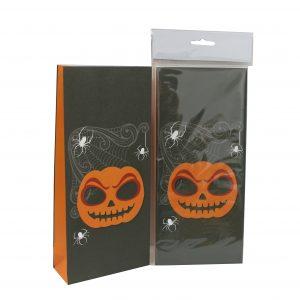Köp godispåse 5 x 12 x 26.5 cm 10 p för halloween dekorationer | Materialbutiken