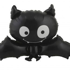 Köp folieballong fladdermus för halloween dekorationer | Materialbutiken