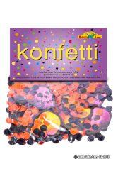 Köp konfetti dödskallar 50 g för halloween dekorationer | Materialbutiken