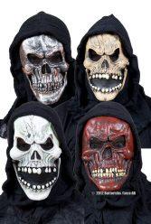 Köp dödskallemask 4 sorterade för halloween | Materialbutiken