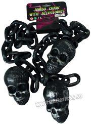 Köp dödskallekedja 1.5 m för halloween dekorationer | Materialbutiken