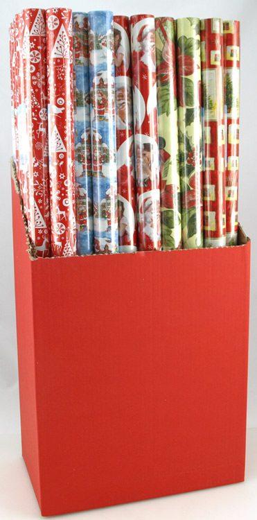 Köp julpapper för gåvor 0.7 m x 2 m festtillbehör | Materialbutiken