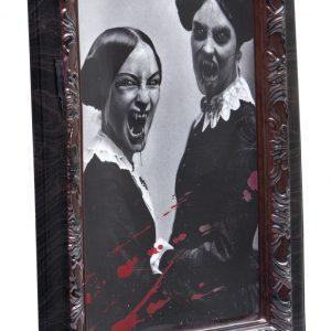 3D tavla för halloween dekorationer 48 x 36 cm | Materialbutiken
