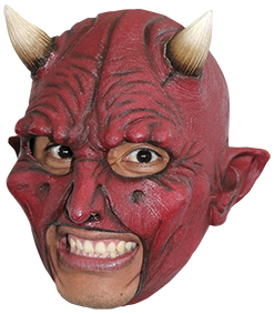 Köp chinless devil mask för halloween dekorationer | Materialbutiken