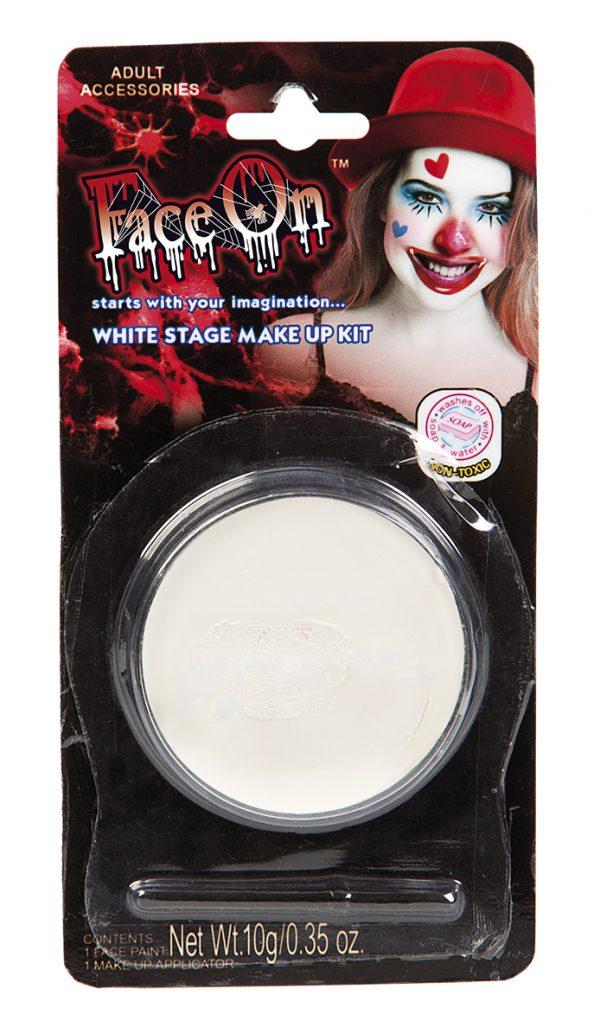 Köp vit ansiktsfärg för halloween dekorationer | Materialbutiken