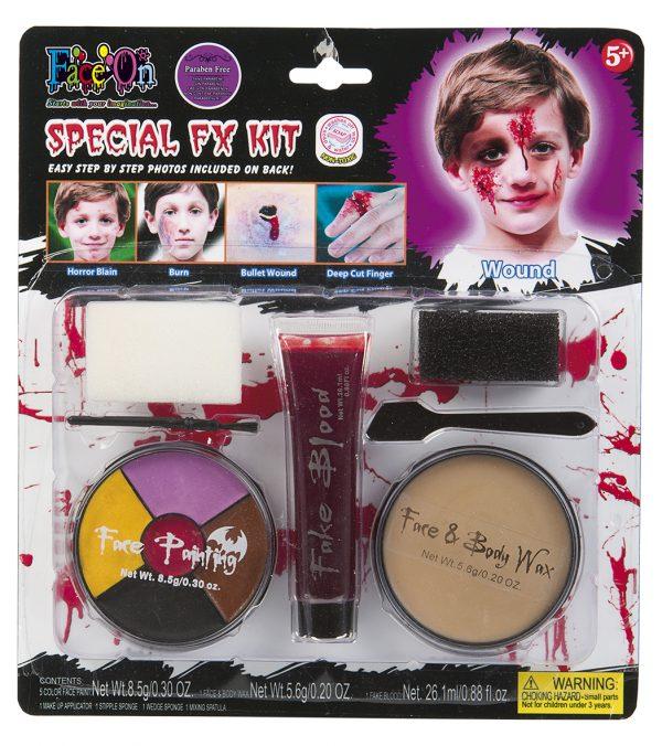 Köp face on special fx kit för barn halloween dekorationer | Materialbutiken