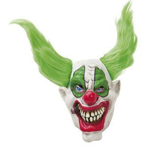 Köp rökande clown mask för halloween dekorationer | Materialbutiken