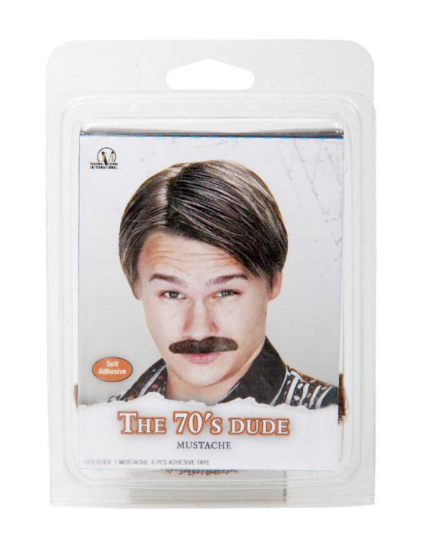 Köp the 70´s dude mustasch för halloween dekorationer | Materialbutiken
