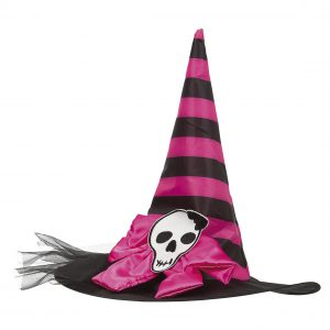 Köp pink witch hat för barn halloween dekorationer | Materialbutiken