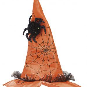 Köp häxhatt m spindel för barn halloween dekorationer | Materialbutiken