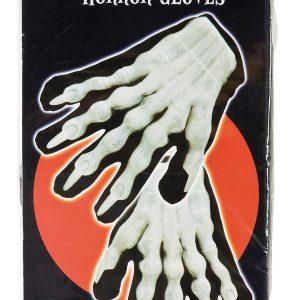 Köp självlysande monsterhandskar glöd i mörkskräckhandskarna för halloween dekorationer | Materialbutiken