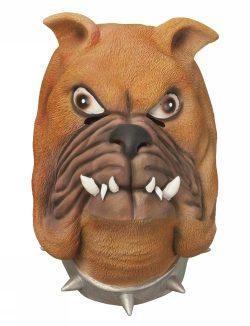 Köp bulldog mask för halloween dekorationer   Materialbutiken