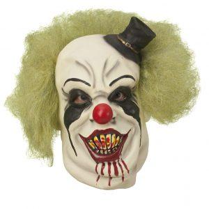 Köp killer clown mask för halloween dekorationer   Materialbutiken