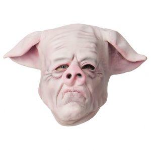 Köp pig man mask för halloween dekorationer   Materialbutiken