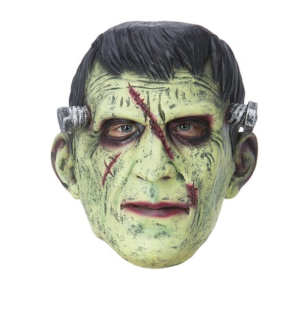 Köp frankenstein mask för halloween dekorationer | Materialbutiken