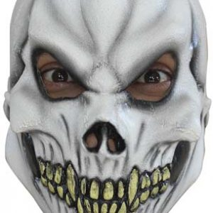 Köp skull latexmask för barn halloween dekorationer | Materialbutiken