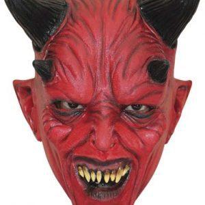 Köp devil latexmask för barn halloween dekorationer | Materialbutiken