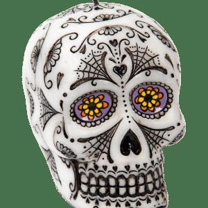 Köp candle skull för halloween dekorationer online | Materialbutiken
