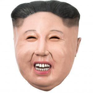 Köp Kim Jong latexmask för halloween dekorationer | Materialbutiken