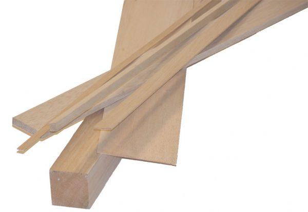 Köpa balsa trä för modellbygge | Materialbutiken