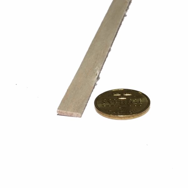 Köp Balsa trä för modelleringsprojekt 2X10X1000 MM | Materialbutiken
