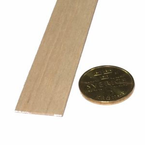 Köp Balsa trä för modelleringsprojekt 1X20X1000 MM | Materialbutiken