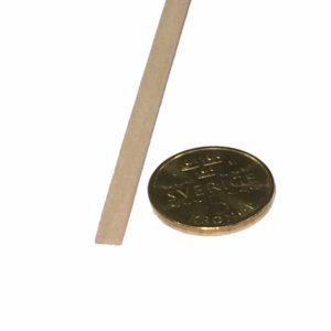 Köp Balsa trä för modelleringsprojekt 1X5X1000 MM | Materialbutiken