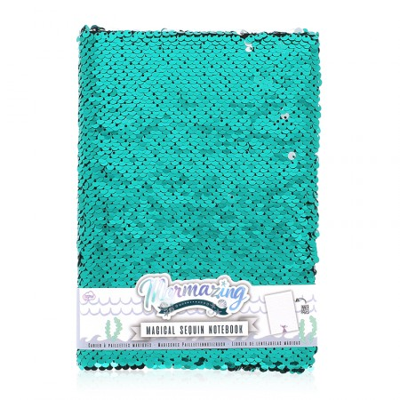 Köp m paljetter sjöjungfru skrivbok festtillbehör | Materialbutiken