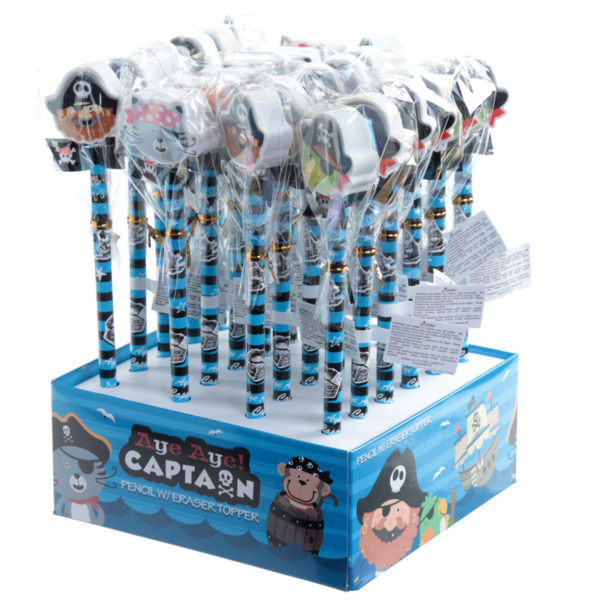 Köp aye aye pirat kapten blyertspenna för festtillbehör | Materialbutiken