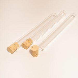Köp laboratorieutrustning provrör med naturkork | Materialbutiken